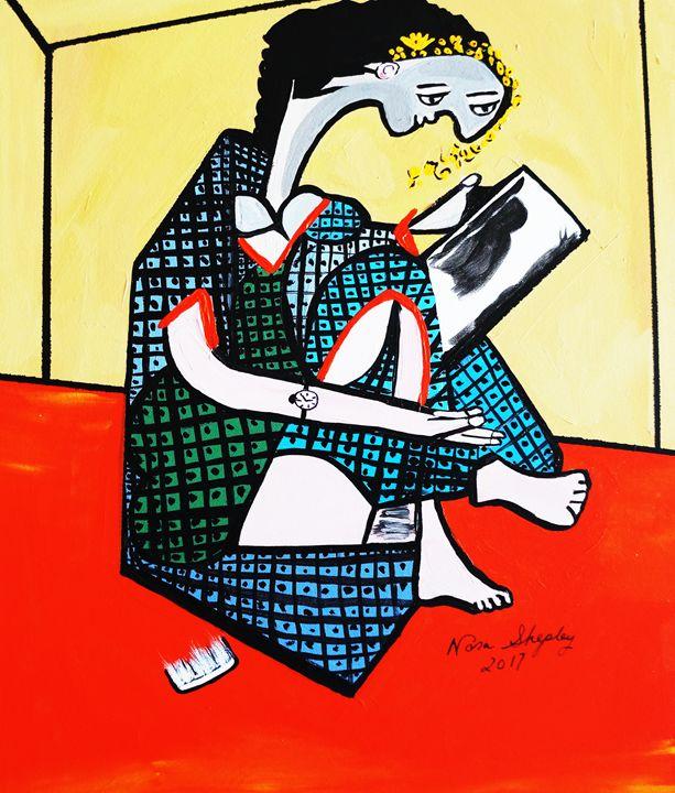 THE MIRROR   PICASSO - NORA SHEPLEY FINE ART