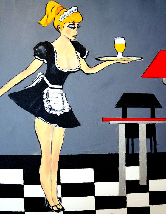 FRENCH MAID - NORA SHEPLEY FINE ART
