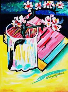 ALMOND BLOSSOM - NORA SHEPLEY FINE ART