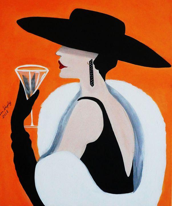 SOPHISTICATED LADY - NORA SHEPLEY FINE ART