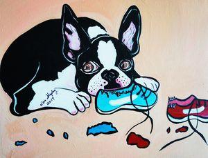 CHEWY - NORA SHEPLEY FINE ART