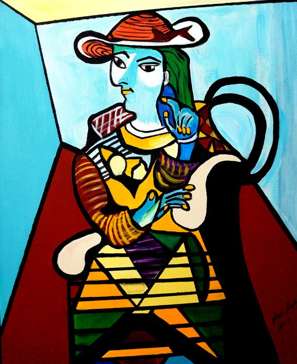 PICASSO BY NORA - NORA SHEPLEY FINE ART