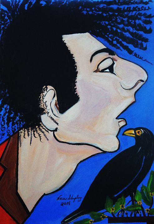BIRDS NEST  PICASSO BY NORA - NORA SHEPLEY FINE ART