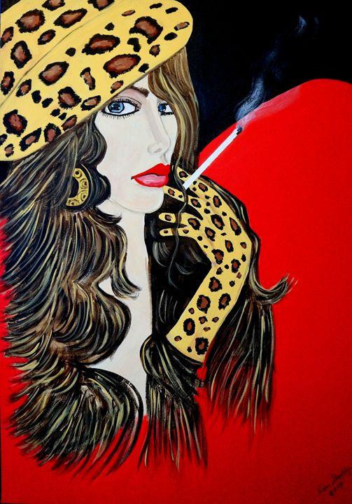 MISS BELL  ART DECO - NORA SHEPLEY FINE ART