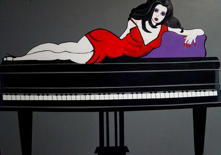 PLAY IT AGAIN SAM,, ART DECO - NORA SHEPLEY FINE ART