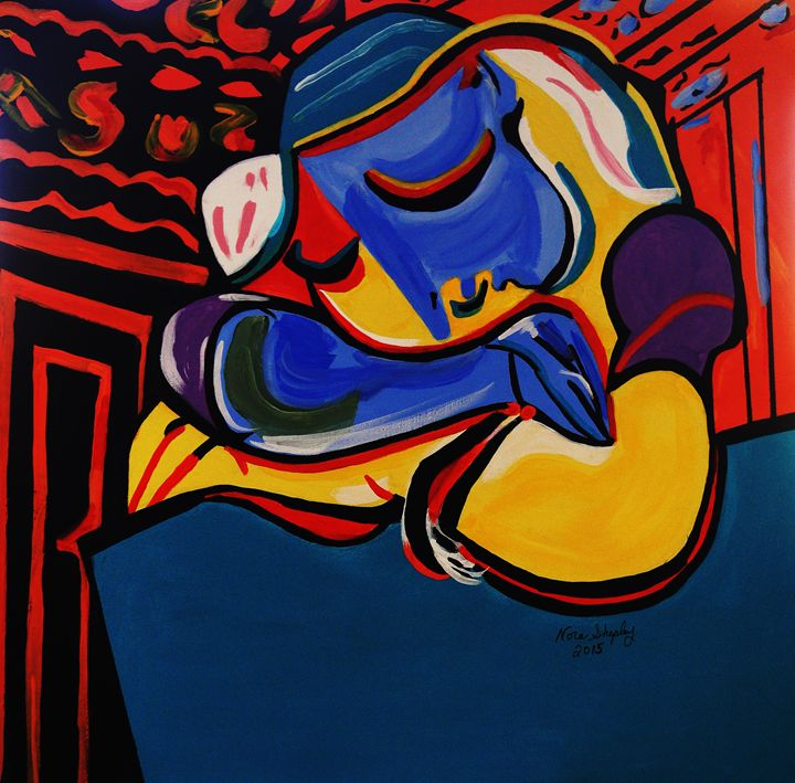 POWER NAP  PICASSO BY NORA - NORA SHEPLEY FINE ART