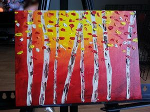 Fiery Birch