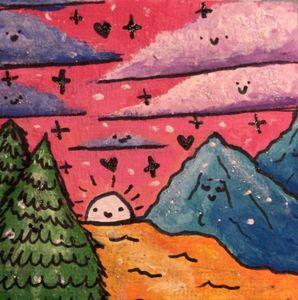 happy mountains