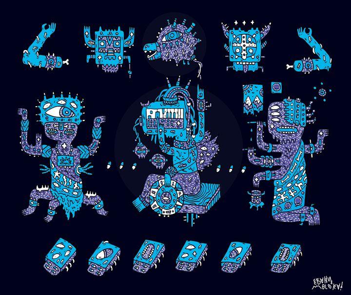 dissociative Aztecs - Ebanimoloka