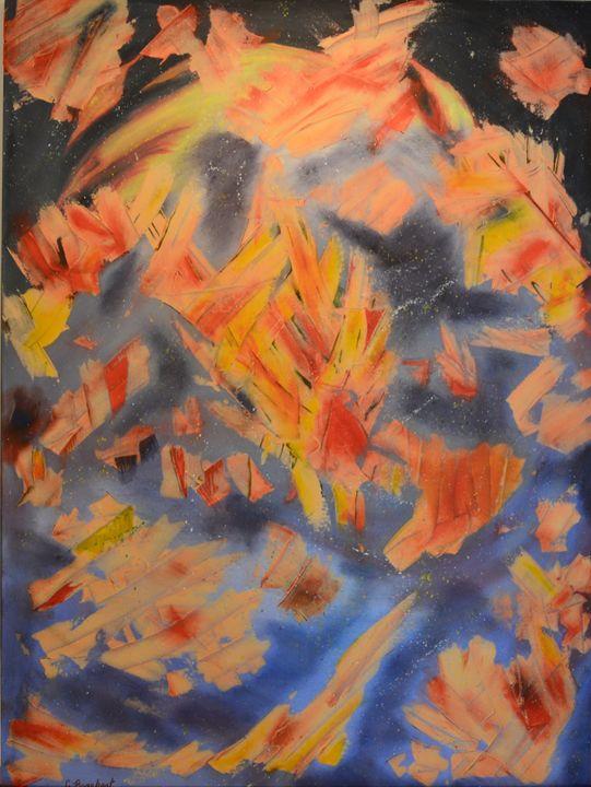 Space Dragon - Cassandra Barnhart