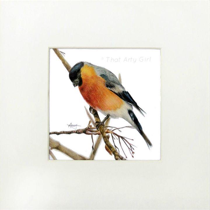 'Bullfinch' - That Arty Girl