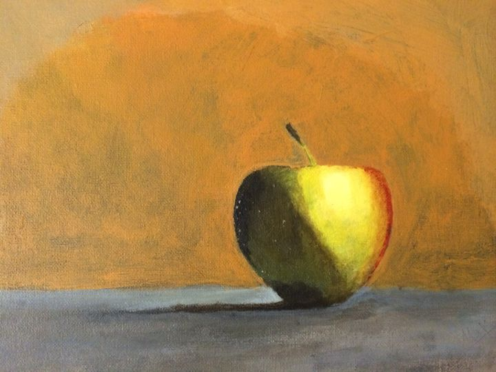 Yellow Apple - MaxZ, Painting Gallery