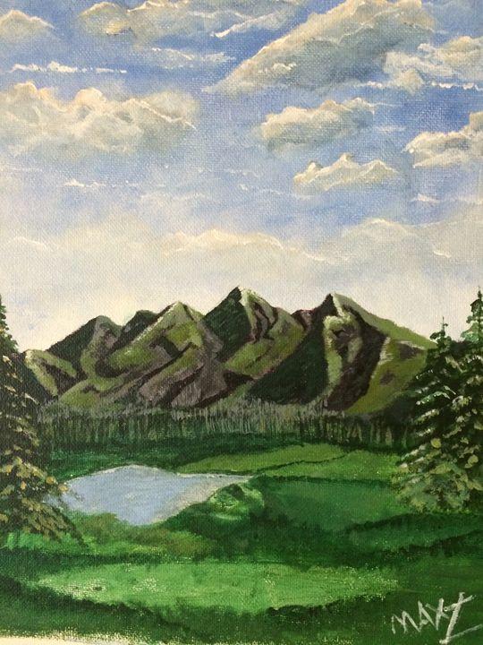 Green Lake - MaxZ, Painting Gallery