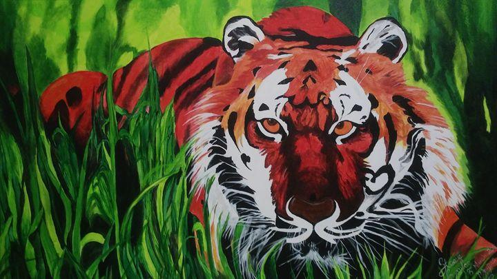 Tiger - Steeve Taylor Art