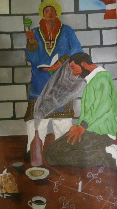Trichotomy of man - Steeve Taylor Art