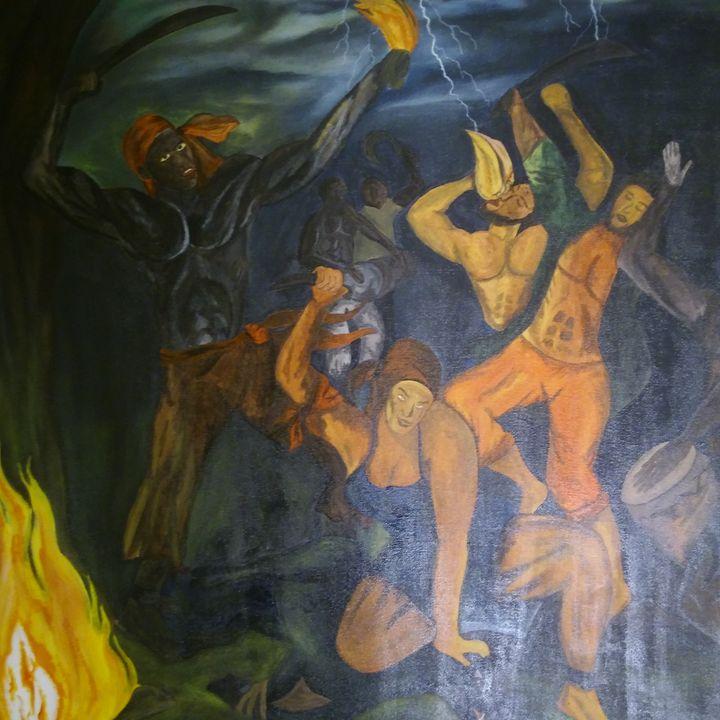 Ceremony Bois-Caiman - Steeve Taylor Art