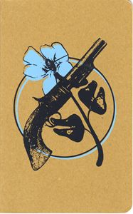 Pistol and Flower Moleskine