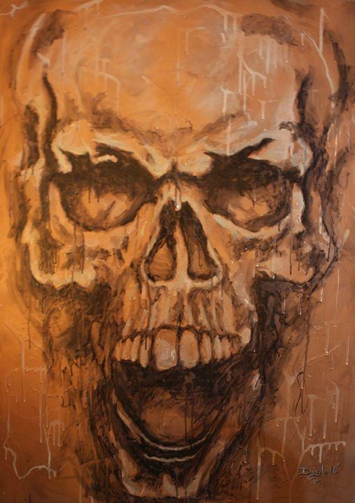 MDS (metallic dripping skull) - Michael Doyle