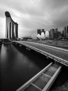 Marina Bay from the crossover