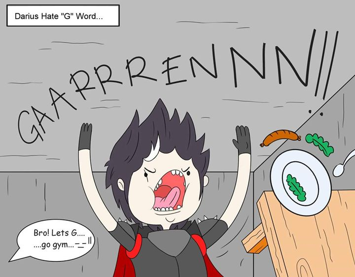 Darius hate G word... - Milo