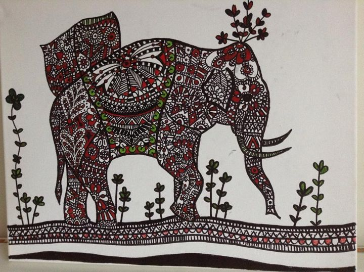 The Elephant - Doodling