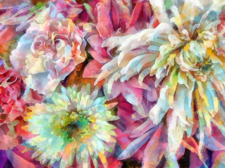 Bouquet of Flowers PhotoArt - PhotoArt By Darla