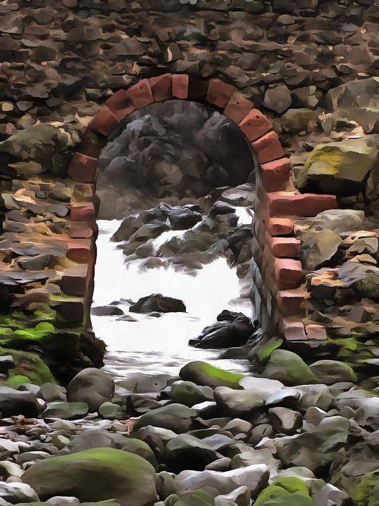 Arch to Ocean PhotoArt - PhotoArt By Darla