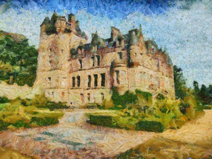 Irish Castle PhotoArt - PhotoArt By Darla