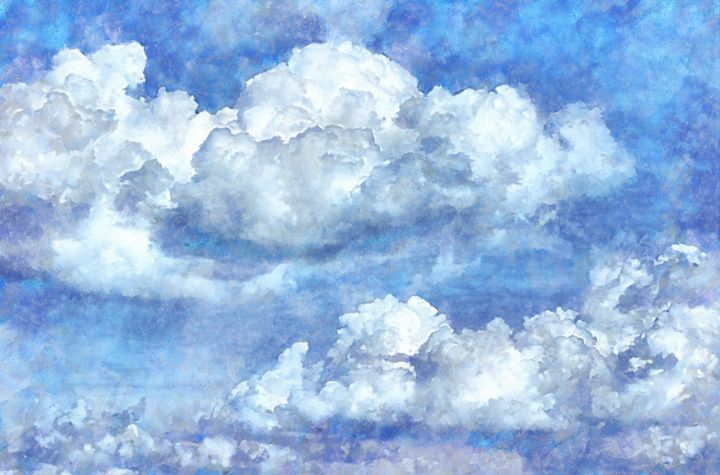 Clouds PhotoArt - PhotoArt By Darla
