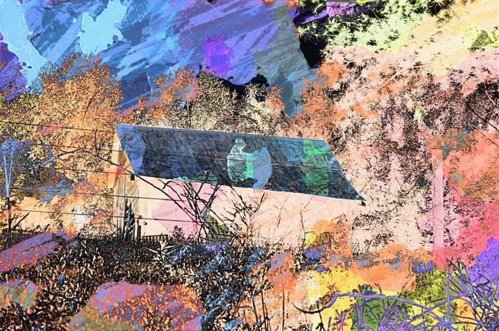 Farmhouse Abstract PhotoArt - PhotoArt By Darla