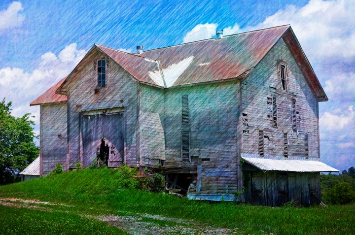 Big Beautiful Barn PhotoArt - PhotoArt By Darla