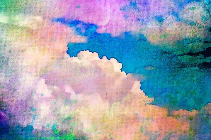 Flight of Fancy Abstract PhotoArt - PhotoArt By Darla