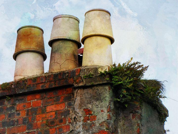 Scotland's Chimney PhotoArt - PhotoArt By Darla