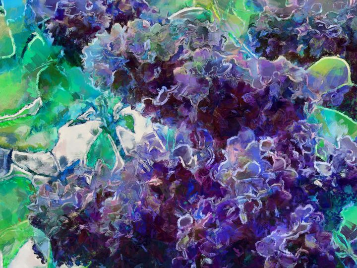 Lilac Flowers PhotoArt - PhotoArt By Darla
