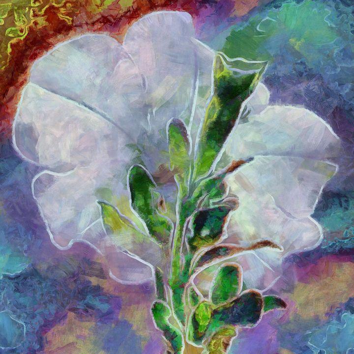 Petunia Flower PhotoArt - PhotoArt By Darla