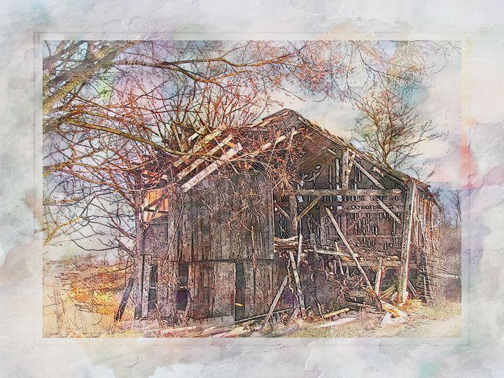 Country Barn PhotoArt - PhotoArt By Darla