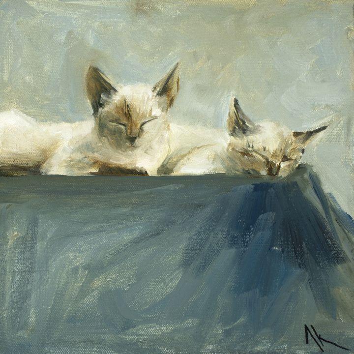 Sun Bathers - AK FINE ART
