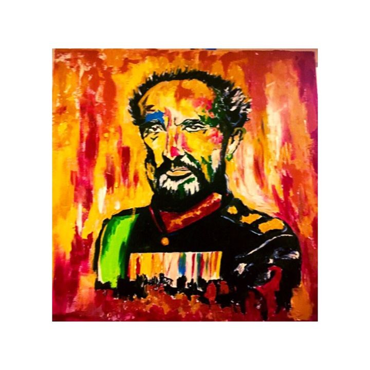 Haile Selassie - AnnieUniqueArt