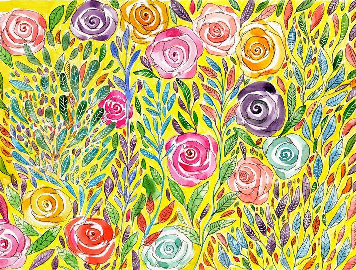 Floral Splender - Roxie Colors
