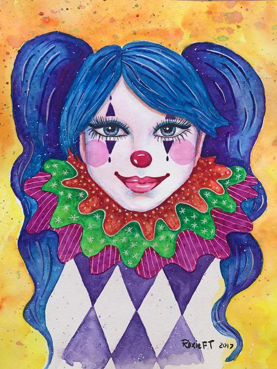 Female Clown - Roxie Colors