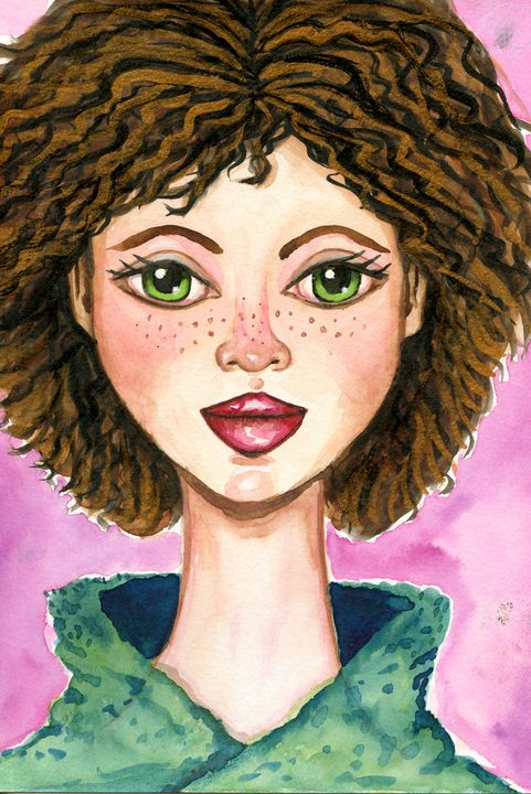 Girl with Green Eyes - Roxie Colors