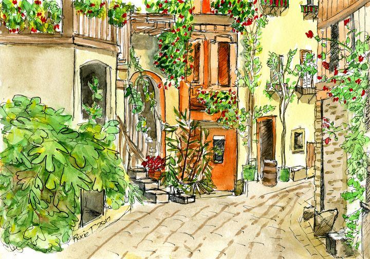 Urban Sketch - Roxie Colors