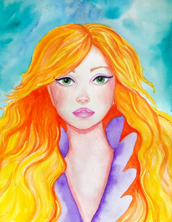 The Girl with the Golden Hair - Roxie Colors