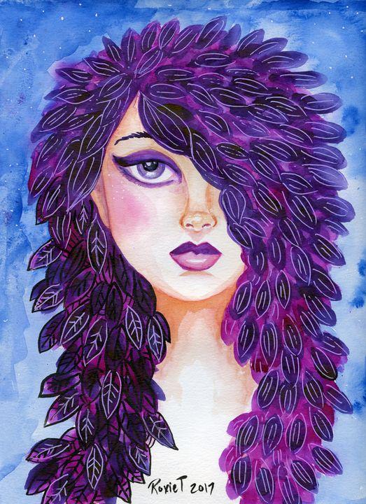 Purple Petal Hair - Roxie Colors
