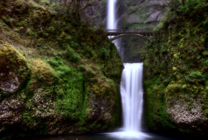 Multnomah Falls Oregon - Fine Art Photography