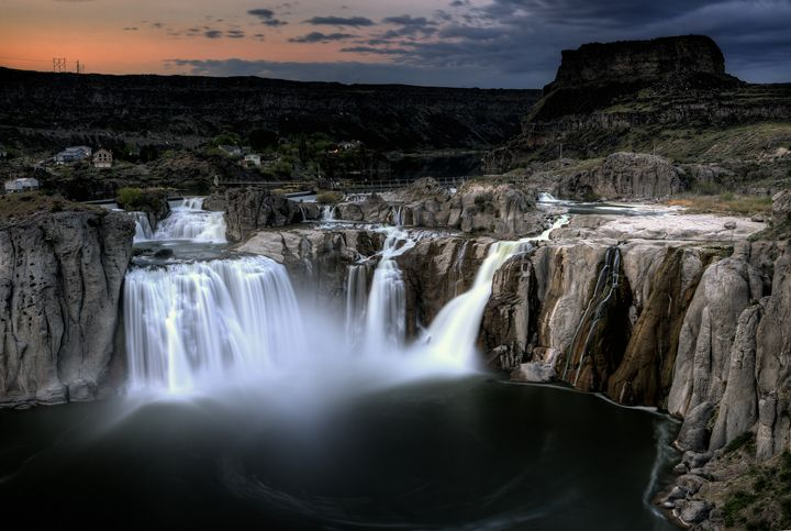 Shoshone Falls  Twin Falls, Idaho - Fine Art Photography