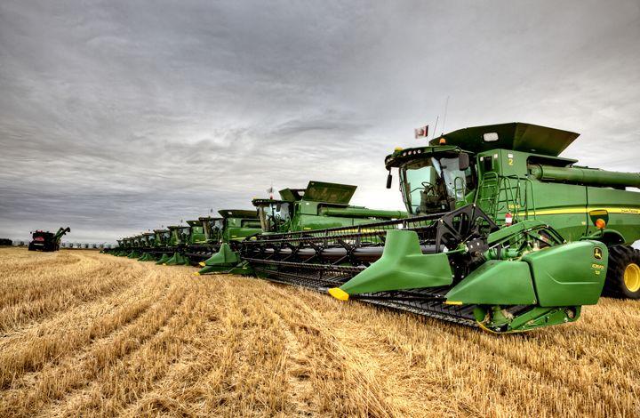 Combines Saskatchewan - Fine Art Photography