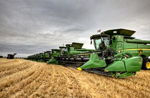 Combines Saskatchewan - Fine Art Photography