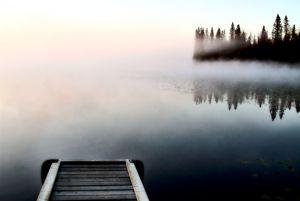 Dock jetty on Northern Lake - Fine Art Photography
