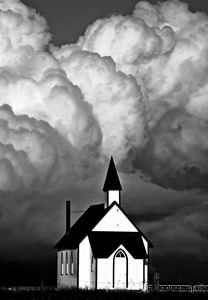 Thunderhead clouds - Fine Art Photography